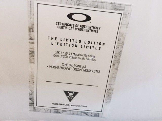 X Metal Giclee Series Print! Limited Edition #25/40! Romeo - O print.jpg