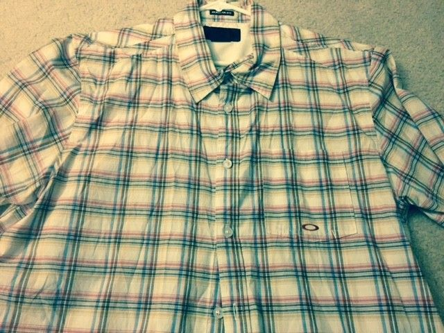 Oakley Polo and Button up Shirt Blow out!! All Size XL - O shirt 3.jpg