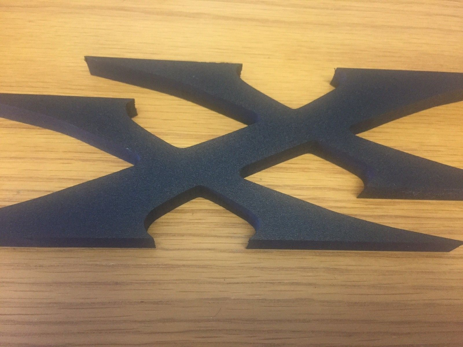 X Metal Black Display sign XX - O X metal display.jpg