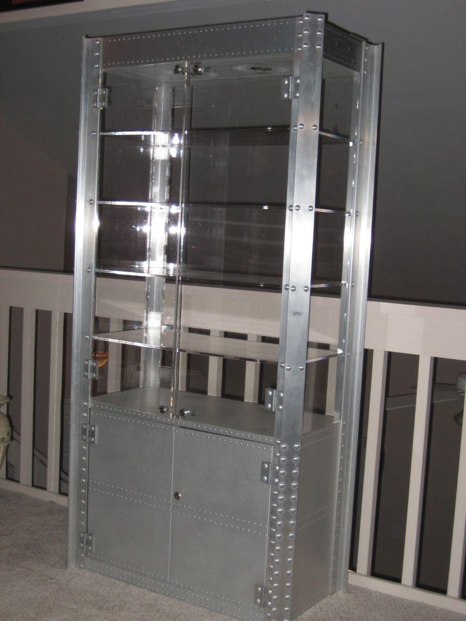 Oakley Double Wide Display Cabinet - oak44.jpg