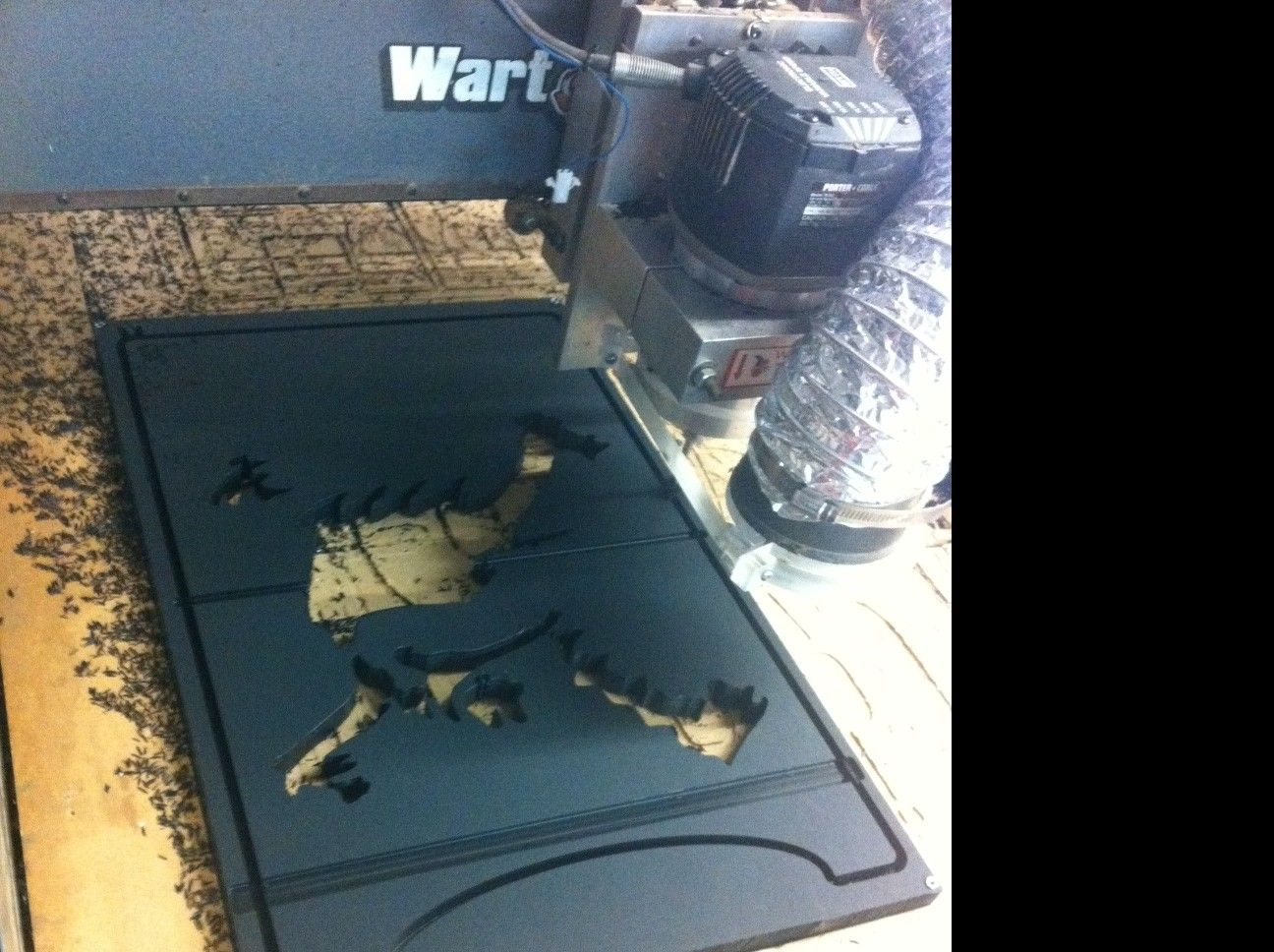 My DIY Oakley X-Metal CUBE Display Case - oakcase6.JPG