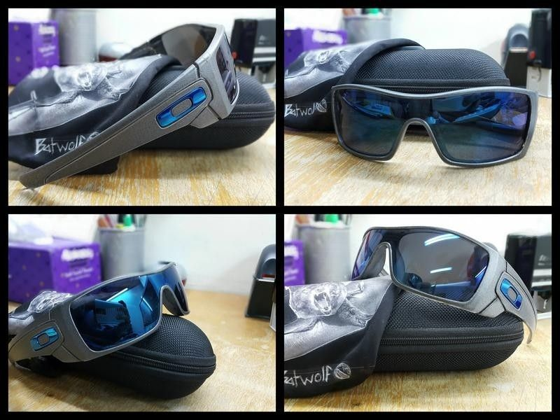 (Or Trade) - A few pairs for Sale - Oakley Batwolf Custom Charcoal Grey.jpeg