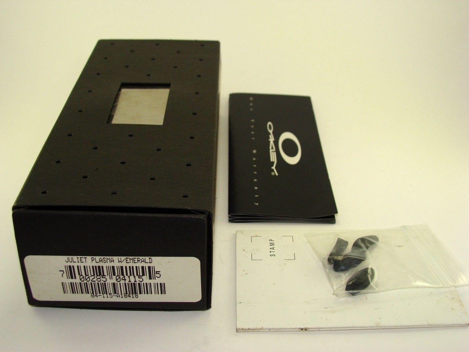 1st Gen Juliet Plasma Emerald 04-115 $400 Shipped CONUS - Oakley Emerald Juliet02.jpg