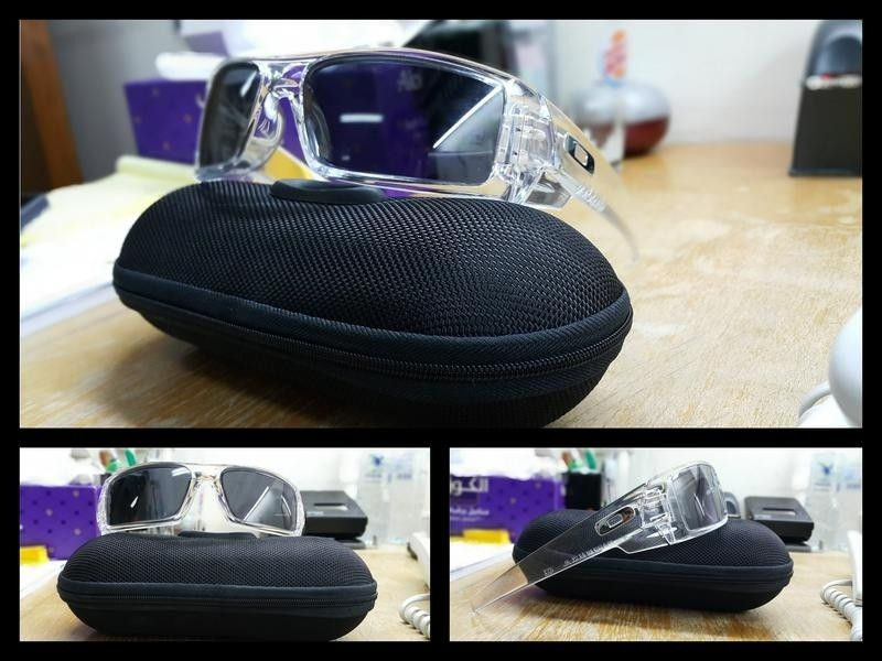 (Or Trade) - A few pairs for Sale - Oakley Gascan Clear.jpeg