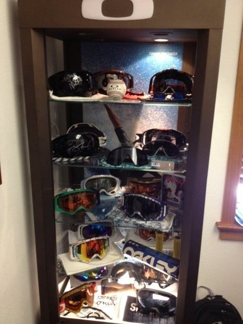 Signed Oakley Goggle Collection - oakley goggles pic.jpg