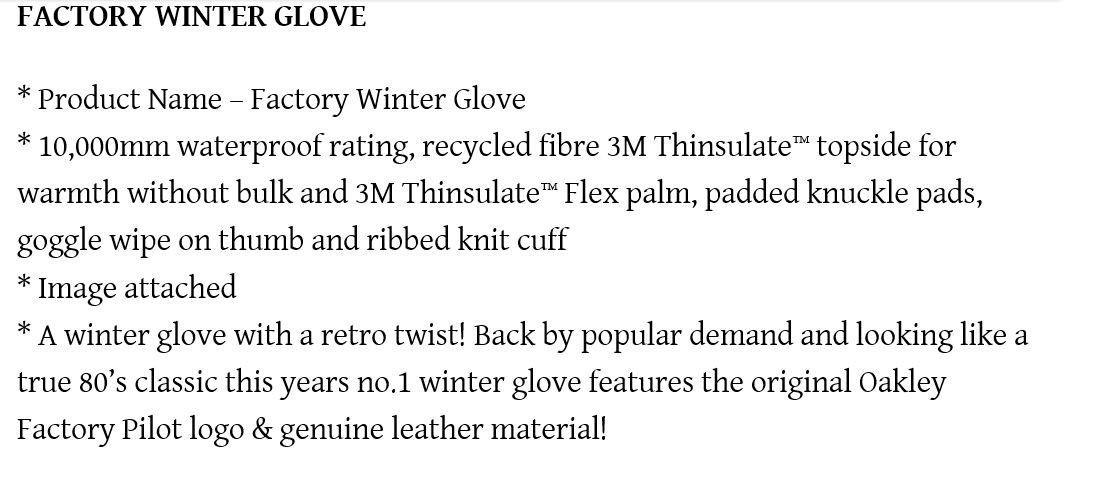 Factory Pilot gloves - oakley.JPG