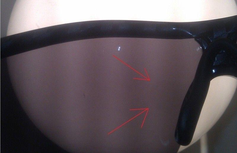 """H"" Sticker Has Left A Mark On My Iridium Lenses! - oakley.jpg"