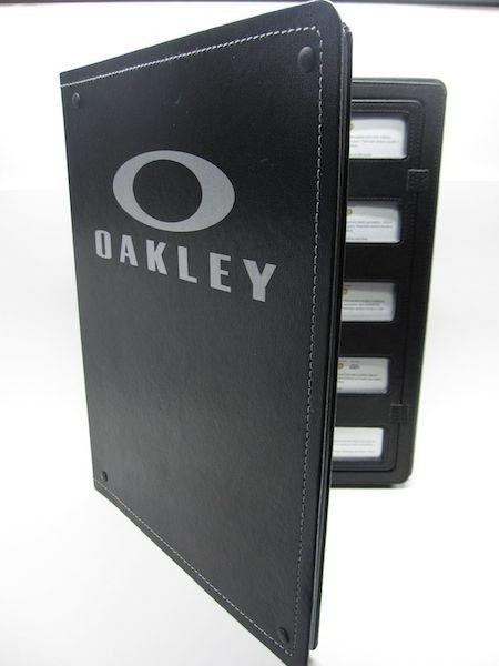 Oakley Lens Display Binder - Oakley Lens Folder.JPG