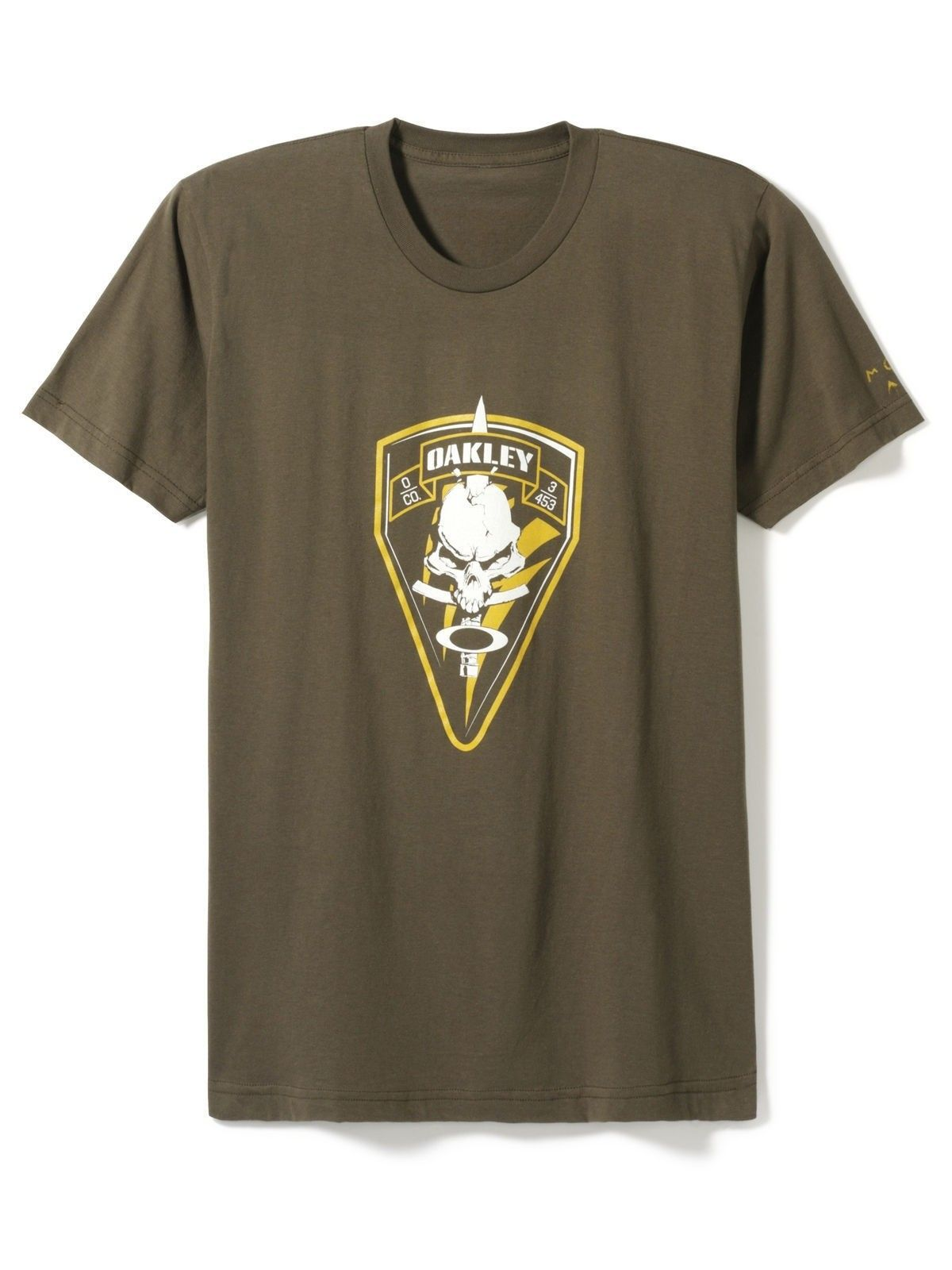 """Which O T Shirt Design Has """"molon Labe"""" On The Sleeve? - oakley-opdet-t-shirt-worn-olive-36771_l1.jpg"""