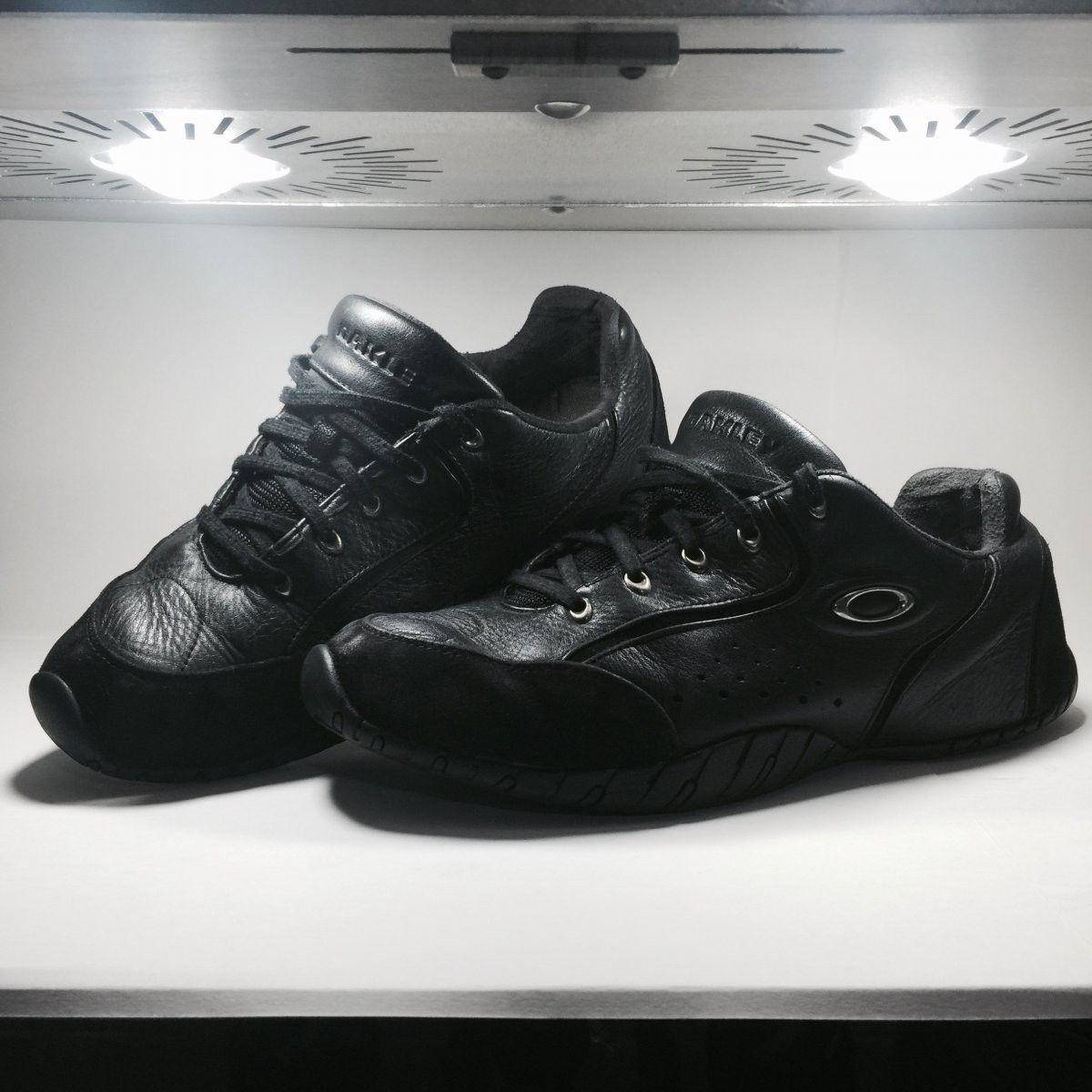 Oakley Shoes Size 12.5 Original Rip Cords Black/Chrome - Oakley Rip Cord Black Chrome (0).jpg