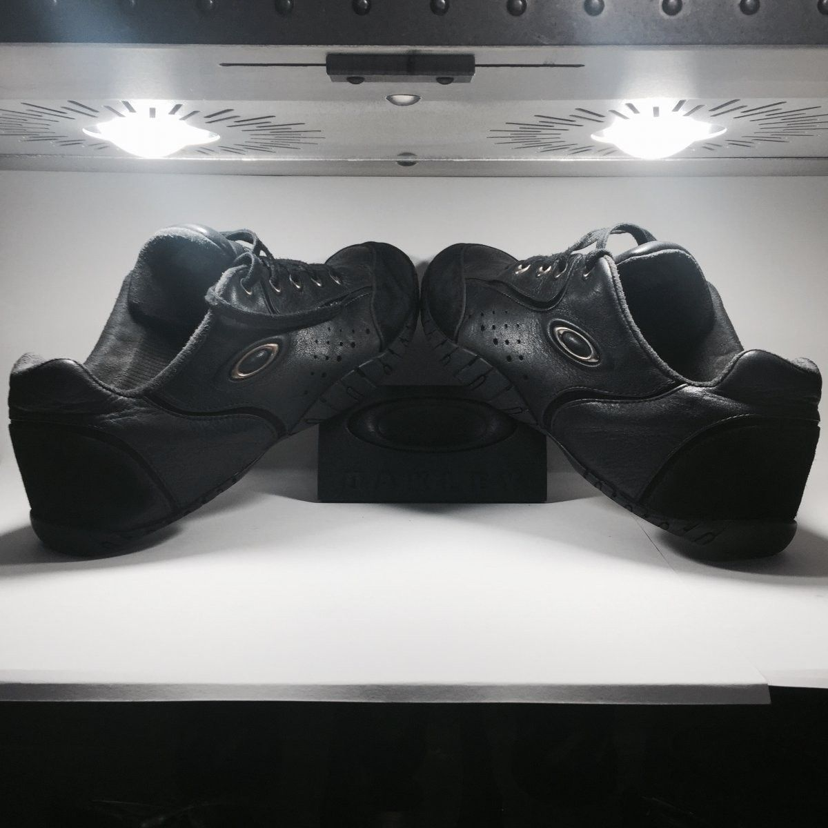 Oakley Shoes Size 12.5 Original Rip Cords Black/Chrome - Oakley Rip Cord Black Chrome (3).jpg