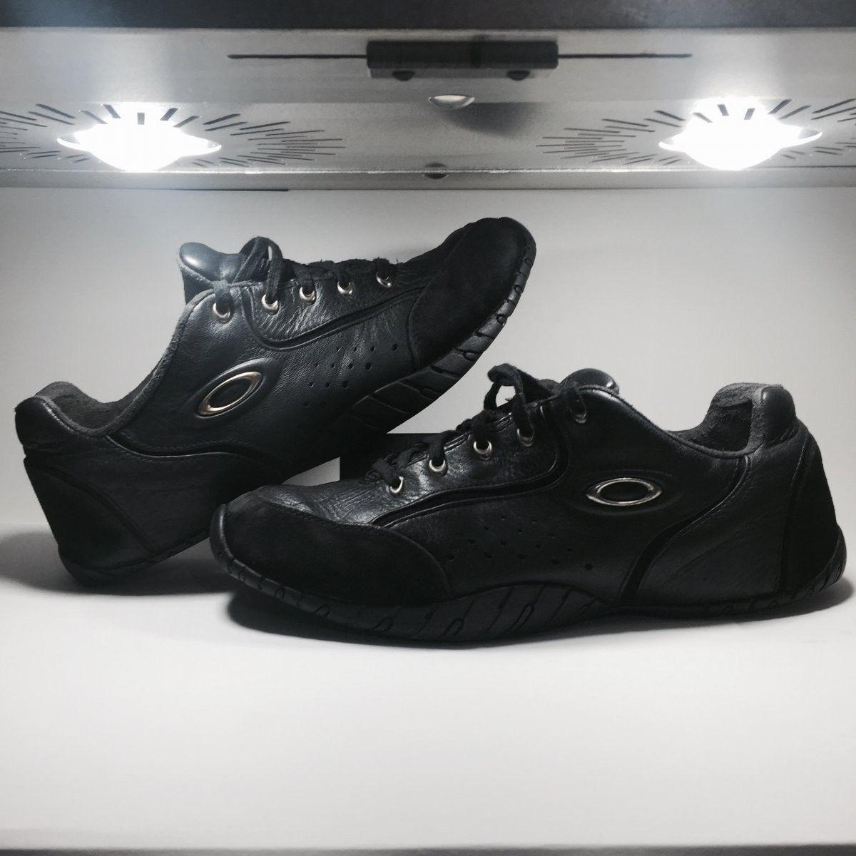 Oakley Shoes Size 12.5 Original Rip Cords Black/Chrome - Oakley Rip Cord Black Chrome (4).jpg