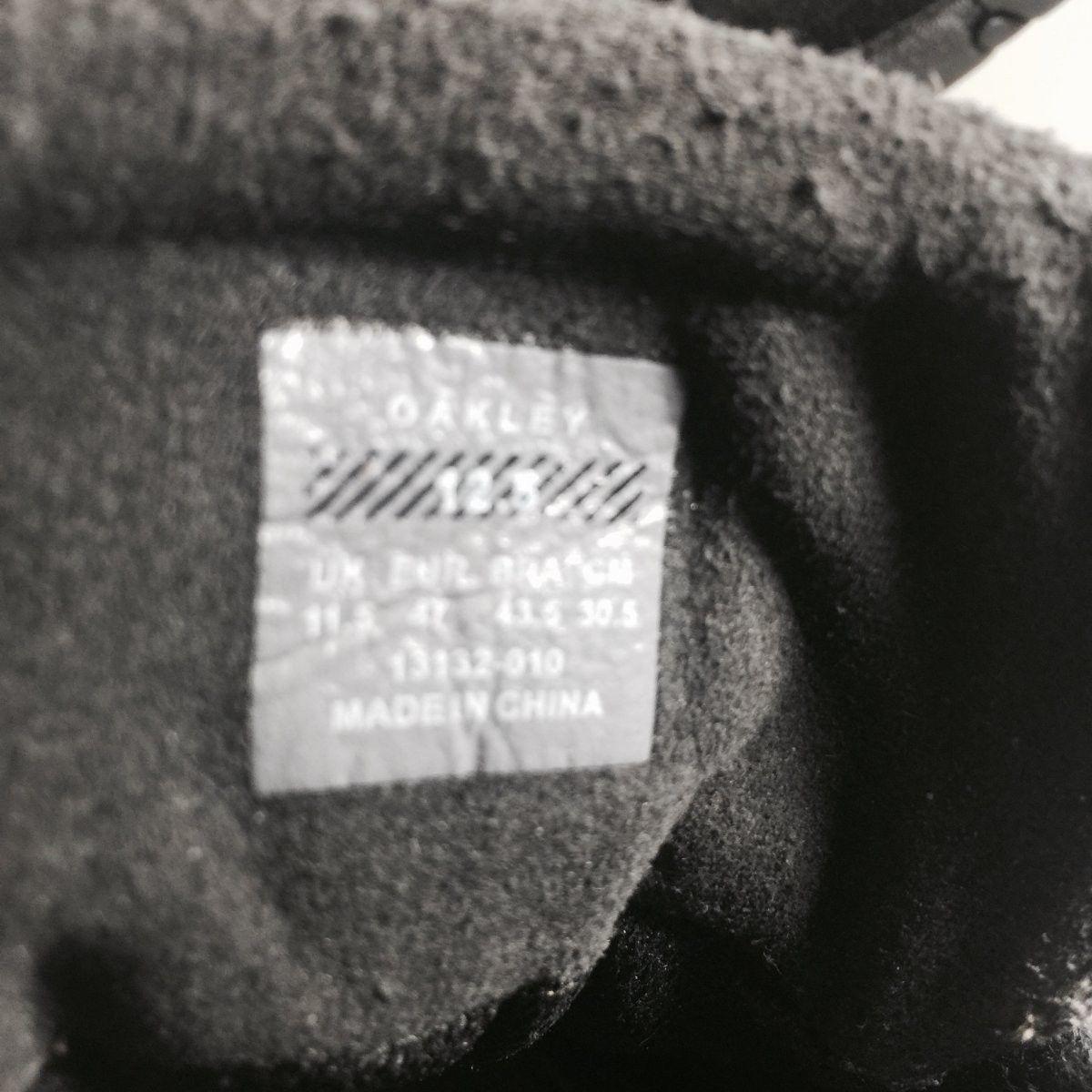 Oakley Shoes Size 12.5 Original Rip Cords Black/Chrome - Oakley Rip Cord Black Chrome (6).jpg