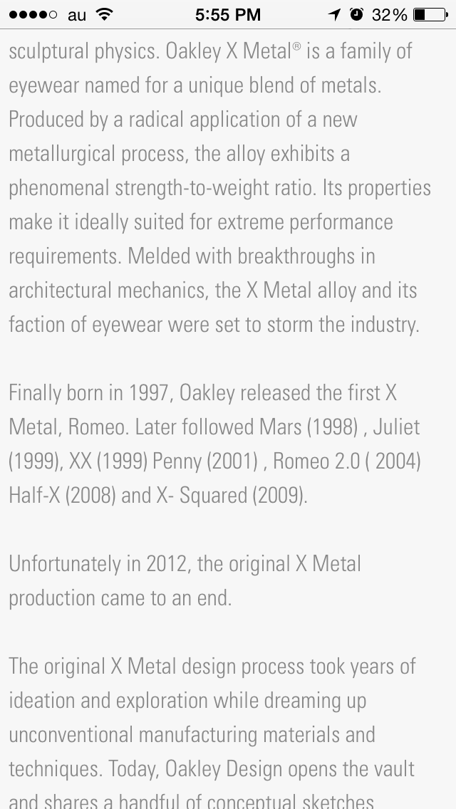 X-Metal history and days to come - Oakley X-Metal frames and its meaning.png