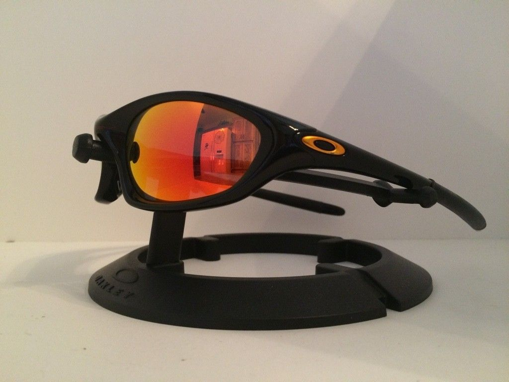 5457e2b6df Oakley XX Twenty Sunglasses - Polished Black W  Fire Iridium Polarized -  Oakley Twenty XX Sunglasses.jpg