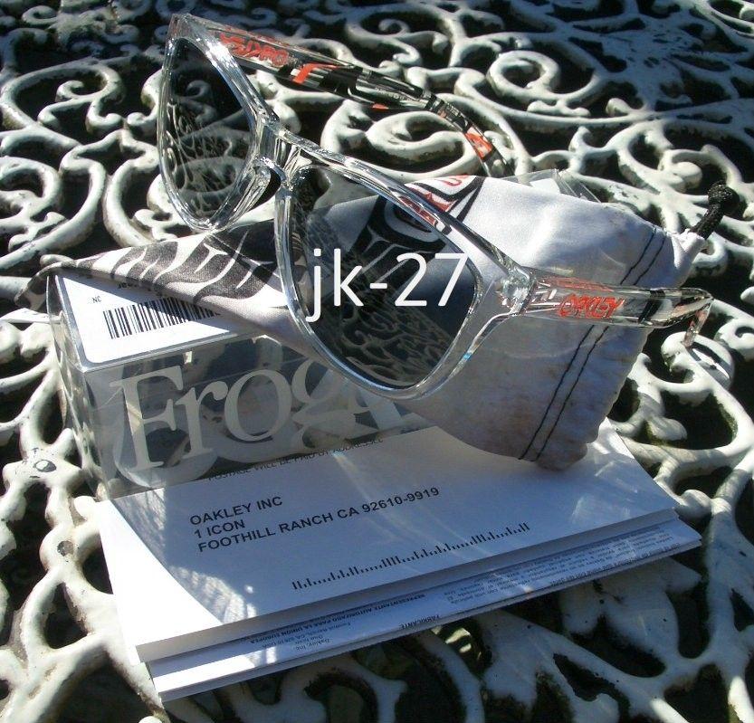Frogskins For Sale...Mastermind, Beauty & Youth, Rag & Bone, Skate Deck & More - OakleyFrogskinsDannyKassClear6_zpsa1f0f6d8.jpg