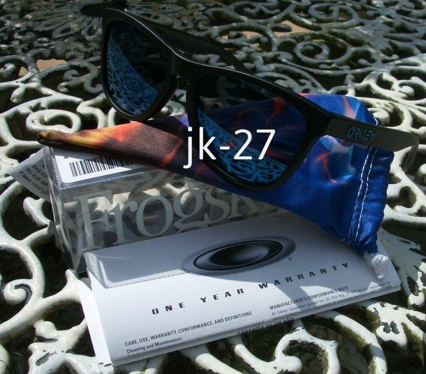 BNIB Oakley Frogskins Heaven - Matte Black W/ Ice Iridium - OakleyFrogskinsHeaven6_zps204d420b.jpg