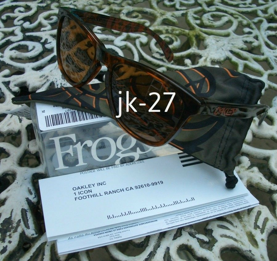 Frogskins For Sale...Mastermind, Beauty & Youth, Rag & Bone, Skate Deck & More - OakleyFrogskinsKazu6.jpg