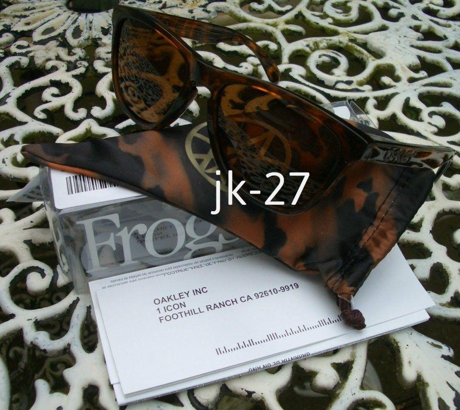Frogskins For Sale...Mastermind, Beauty & Youth, Rag & Bone, Skate Deck & More - OakleyFrogskinsKostonTortoise6.jpg