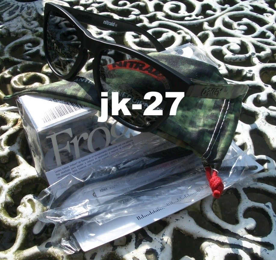 Frogskins For Sale...Mastermind, Beauty & Youth, Rag & Bone, Skate Deck & More - OakleyFrogskinsNitraid6_zps273911d9.jpg