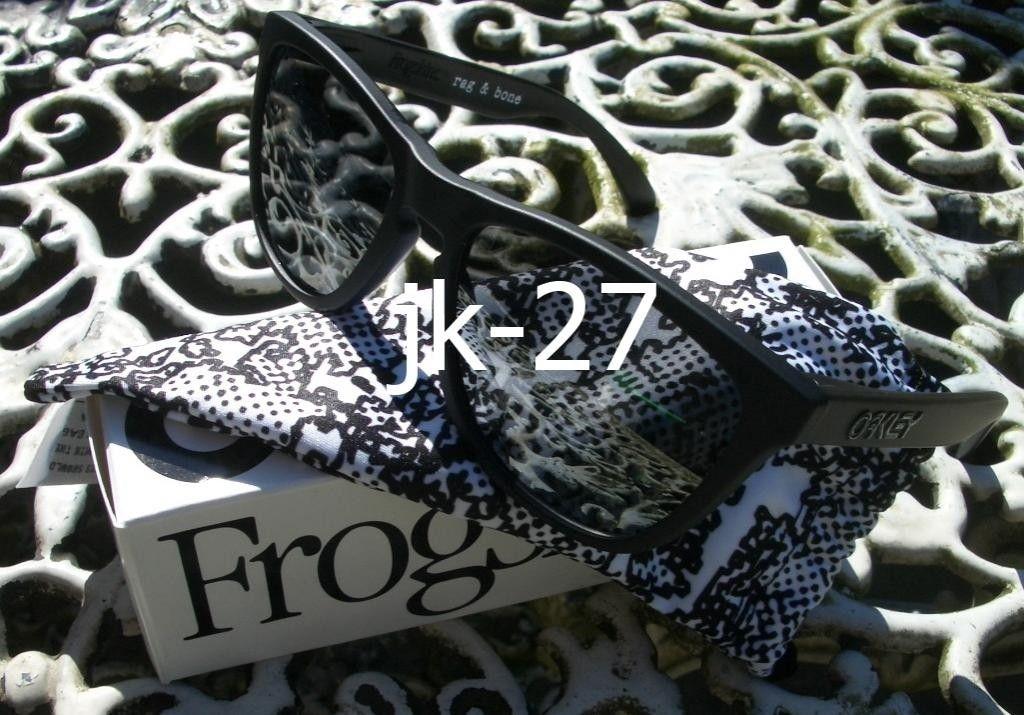Frogskins For Sale...Mastermind, Beauty & Youth, Rag & Bone, Skate Deck & More - OakleyFrogskinsRagampBoneBlack6_zpsef229b53.jpg