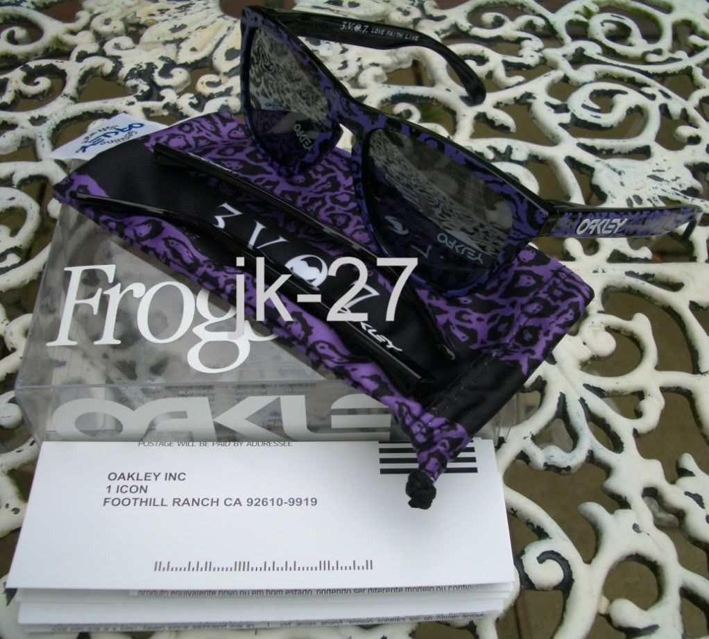 Frogskins For Sale...Mastermind, Beauty & Youth, Rag & Bone, Skate Deck & More - OakleyFrogskinsVanNessWu7.jpg