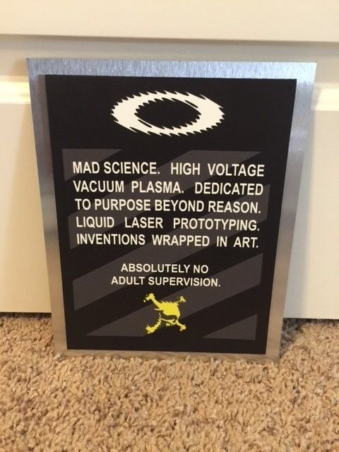 Oakley Mad Science Poster