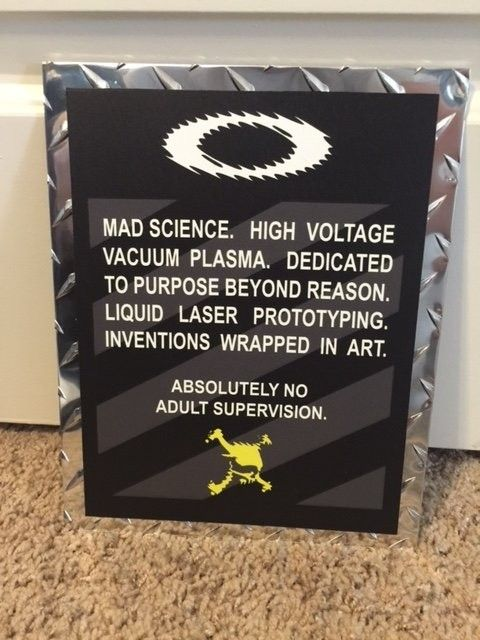 Oakley Mad Science Poster 2