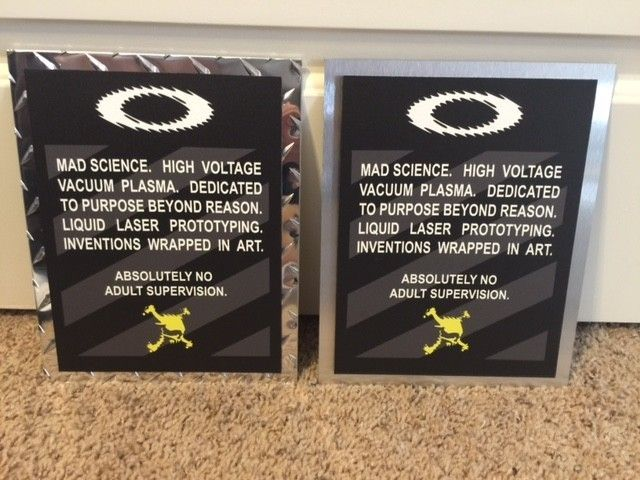 Oakley Mad Science Posters