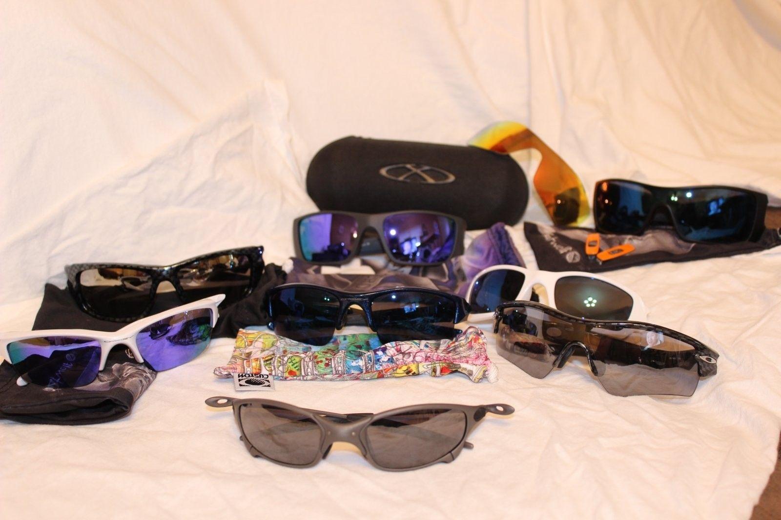 Here are some of my Oakley's! - oakleys.JPG