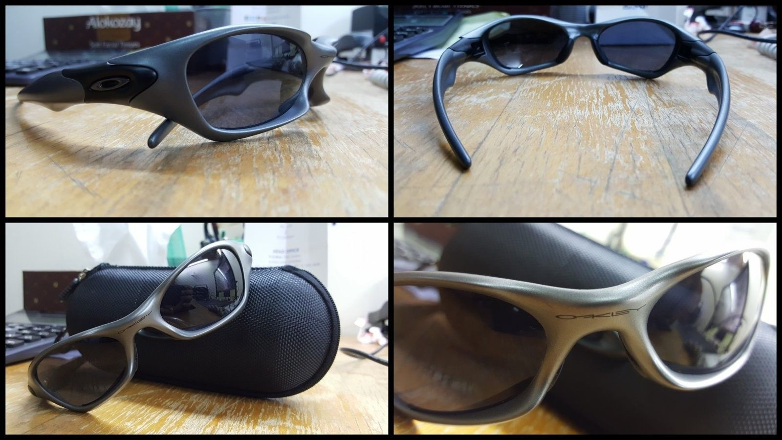 / Trade - OAKLEY - Various with PB1 Gunmetal VR28 - Oakleys1.jpg