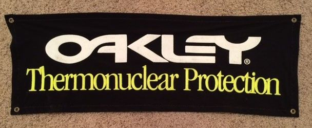 Oakley Thermonuclear Protection Felt Banner $SOLD - OBanner3.jpg