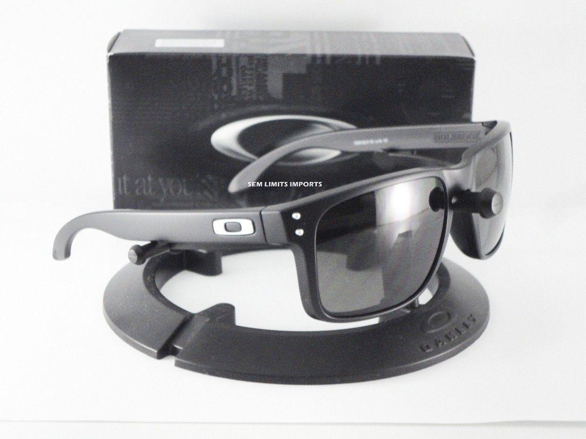 My gift christmas arrived   sooner - oculos-oakley-holbrook-matte-black-warm-grey-21769-MLB20216026107_122014-F.jpg