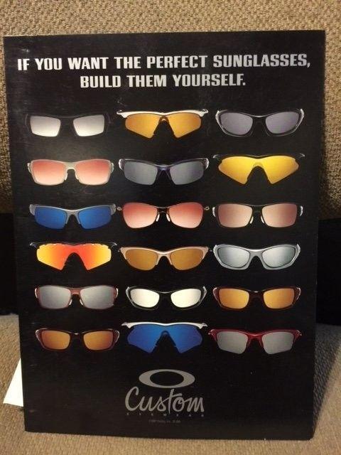 Vintage Oakley Custom Eye wear display POP  SOLD - Ocustom2.JPG