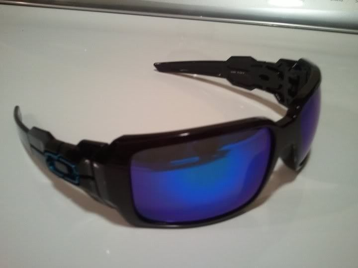 For Sale: RARE Oakley Oil Drum Custom Black/Blue/Ice - oildrum2.jpg
