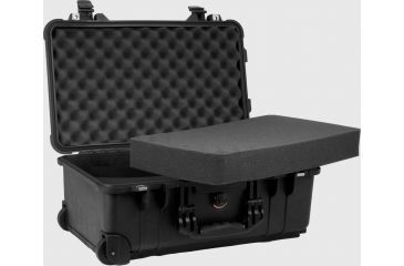 Storage Suitcase For Glasses - opplanet-pelican-black-medium-watertight-case-1510-with-foam-open.jpg