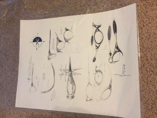 Oakley Peter Yee Signed Sunglasses Proof/Print SOLD - OPrint.JPG