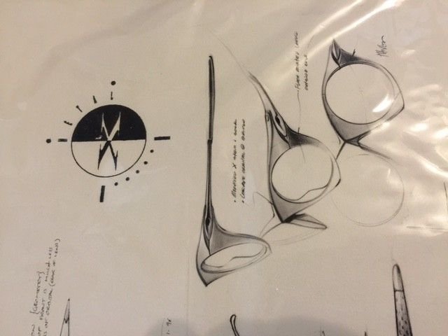 Oakley Peter Yee Signed Sunglasses Proof/Print SOLD - OPrint1.JPG