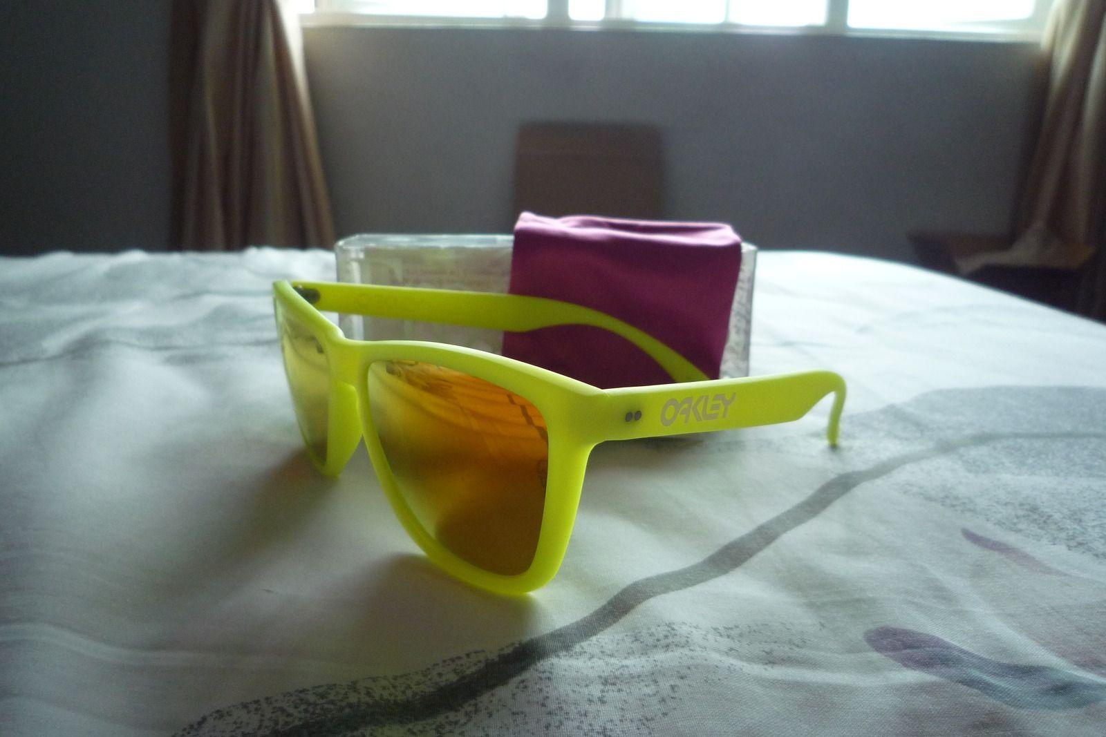 Gen 1 Japan Frogskins Neon Yellow/Orange Iridium BNIB/MINT - p1020334p.jpg