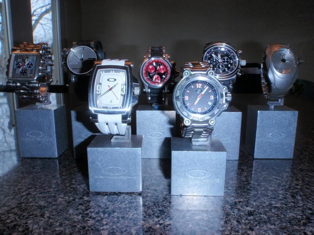 My UPDATED Oakley Watch Collection........ - P3021630_zps69423361.jpg