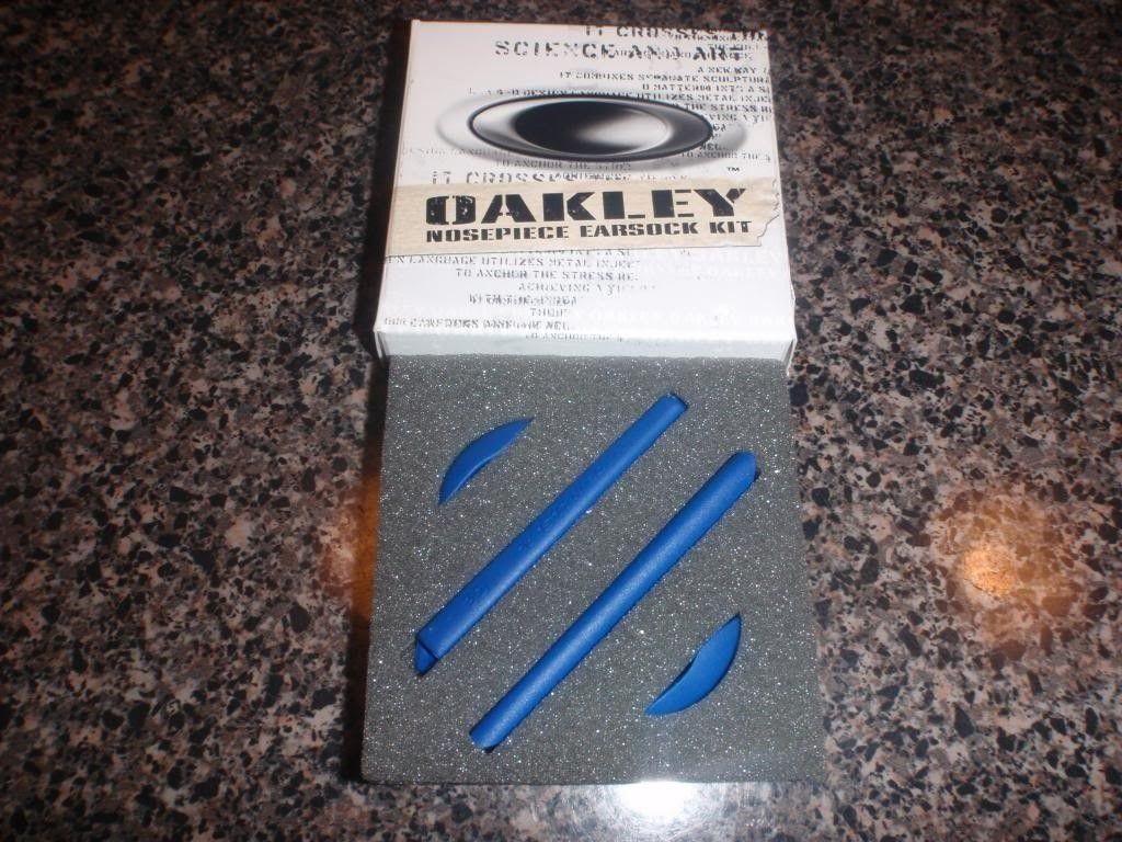 BNIB Oakley XX Twenty Blue Earsock Kit....... - PA191660_zps0b7f51a3.jpg