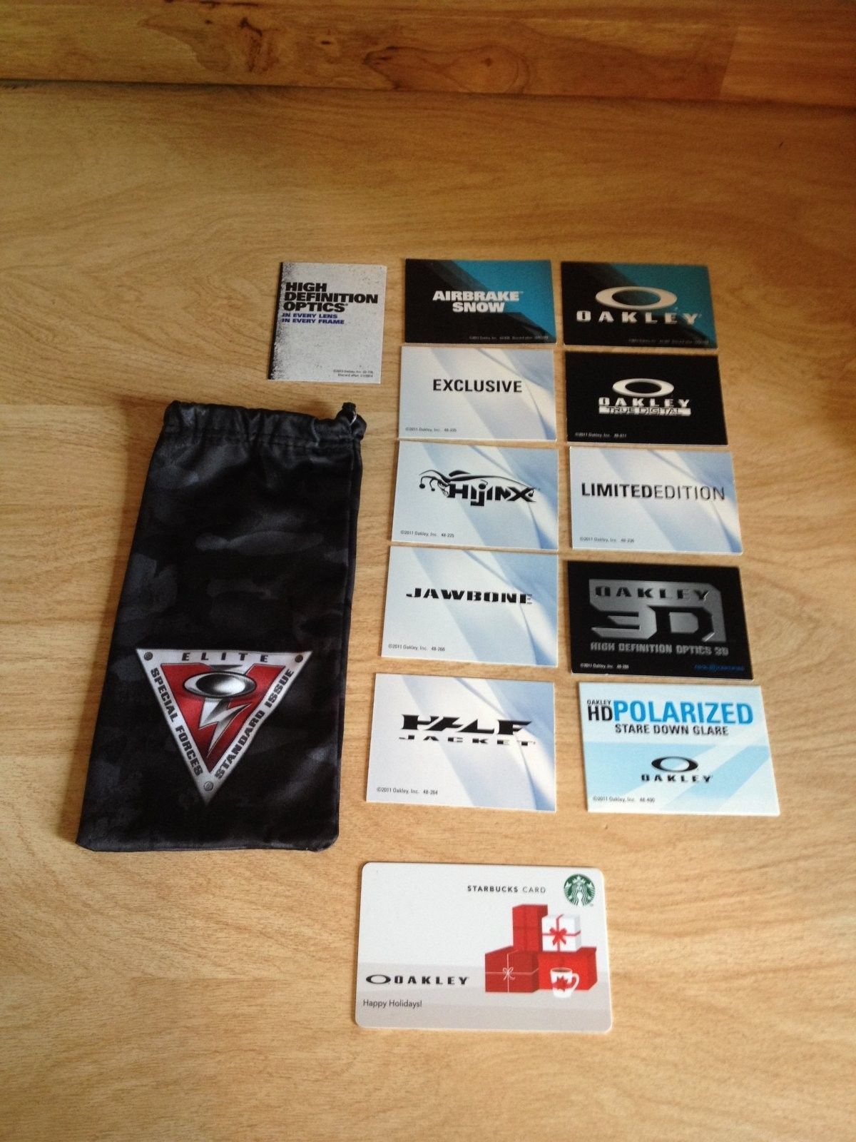 Few Bags, Pins, Polarized Lenses, Rubbers, And More! - photo 1.JPG