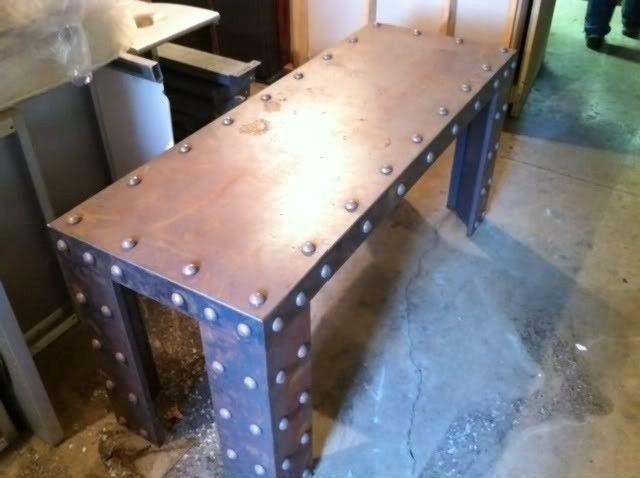 Oakley Steel Display Table - photo-4.jpg