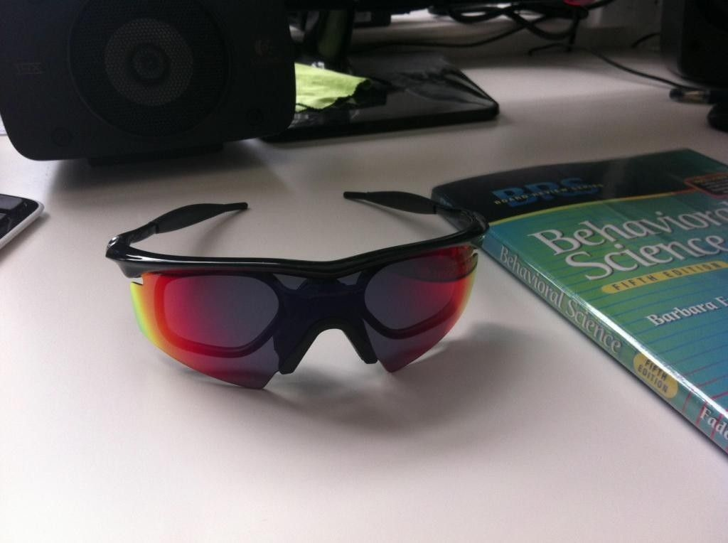 Oakley M Frame Commercial With Prescription Rx Inserts