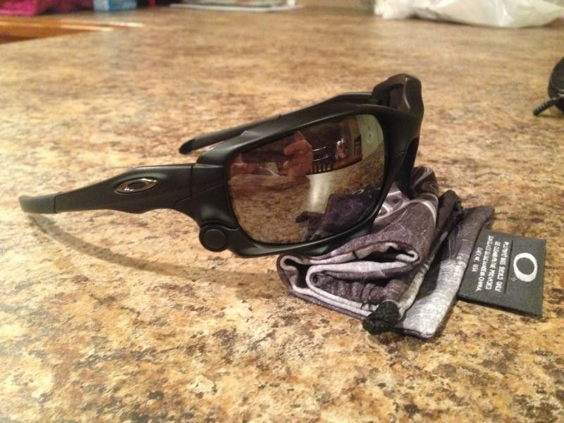 Oakley Jawbone Matte Black With Black Iridium Non-vented - photo2-9.jpg