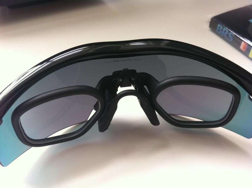 Oakley M-Frame (Commercial) With Prescription (Rx) Inserts: Sharing ...