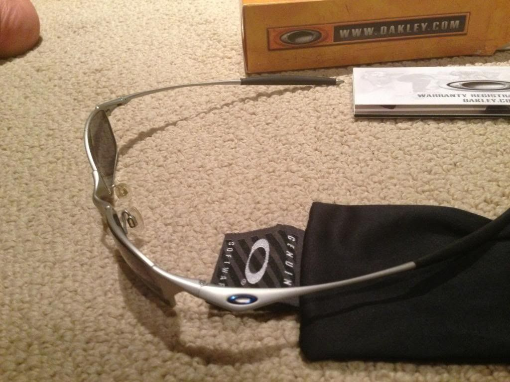 Original Wire Tap- Ice Iridium. 6/10 Condition. $50 Shipped. - photo3-8.jpg