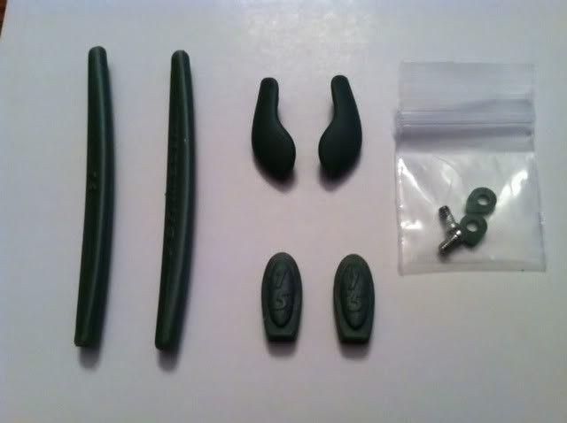Oakley Ichiro Green Rubber Kit......... - photo7-8.jpg