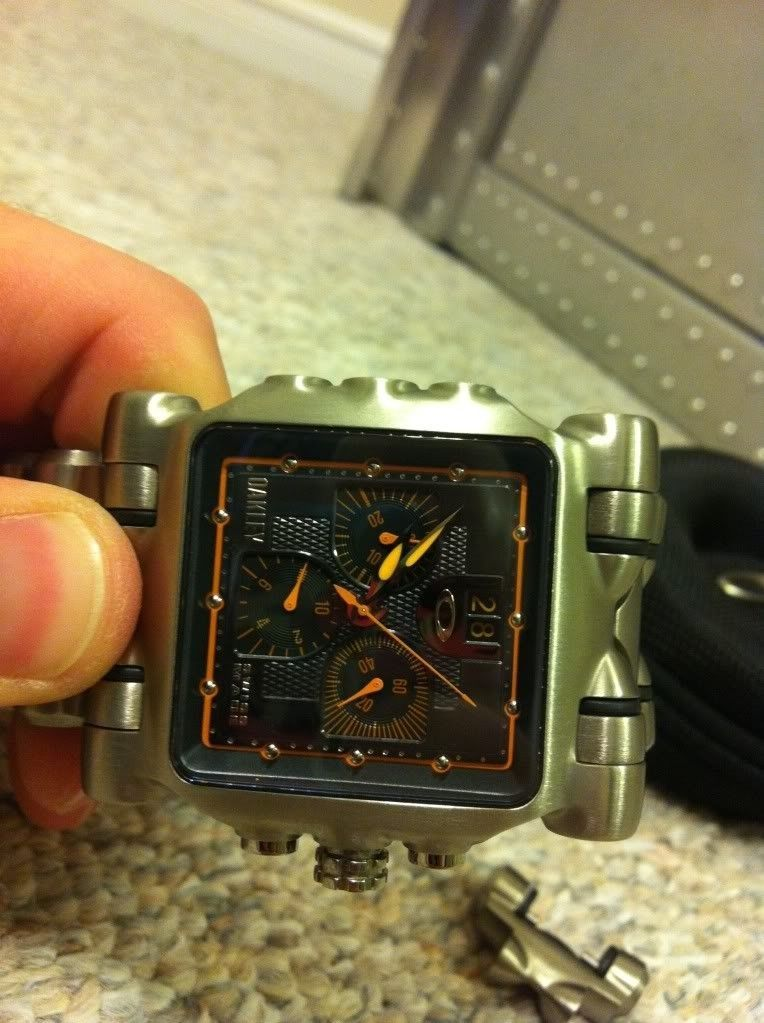 Or Trade Minute Machine Watch Yellow Dial - photo_zps67d4cb75.jpg