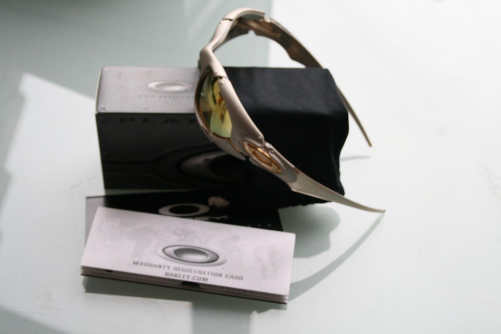 Oakley Plate Platinum X/24K Iridium Lens BNIB SKU# 03-851 - plateglod.jpg